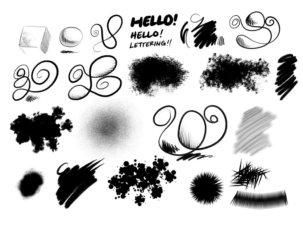 Urban Sketching - Procreate Brushes