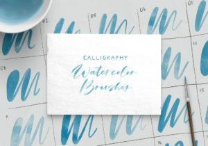 Bold Calligraphy for Procreate Bold Calligraphy for