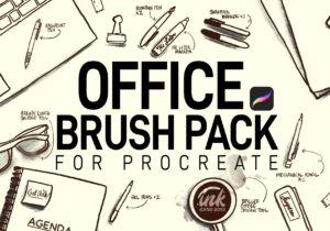 Procreate Brushes - custom, photoshop-quality brushes for iPad